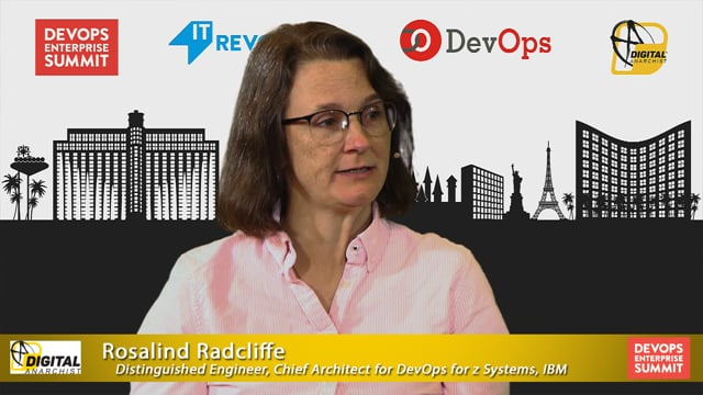Rosalind Radcliffe, IBM | DOES Las Vegas 2019