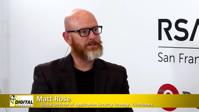 Matt Rose, Checkmarx   RSA Conference 2019
