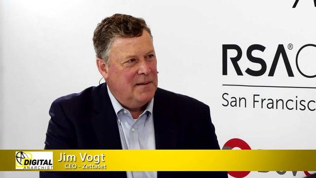 Jim Vogt, Zettaset   RSA Conference 2019
