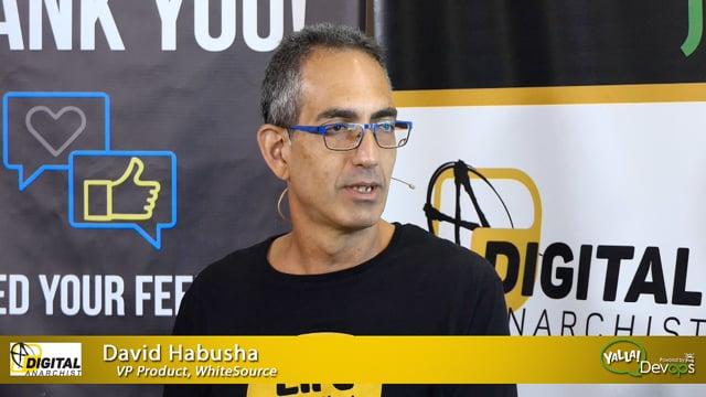 David Habusha, WhiteSource | Yalla DevOps 2019