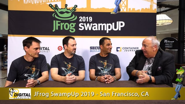 Shlomi Ben Haim, Yoav Landman, Fred Simon   JFrog SwampUp 2019