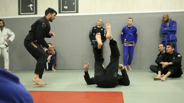 Sit up Lapel renversement et variation de single leg