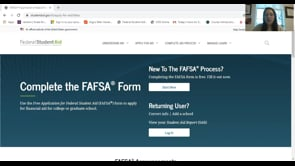 Sweet Briar College Financial Aid – Completing the FAFSA
