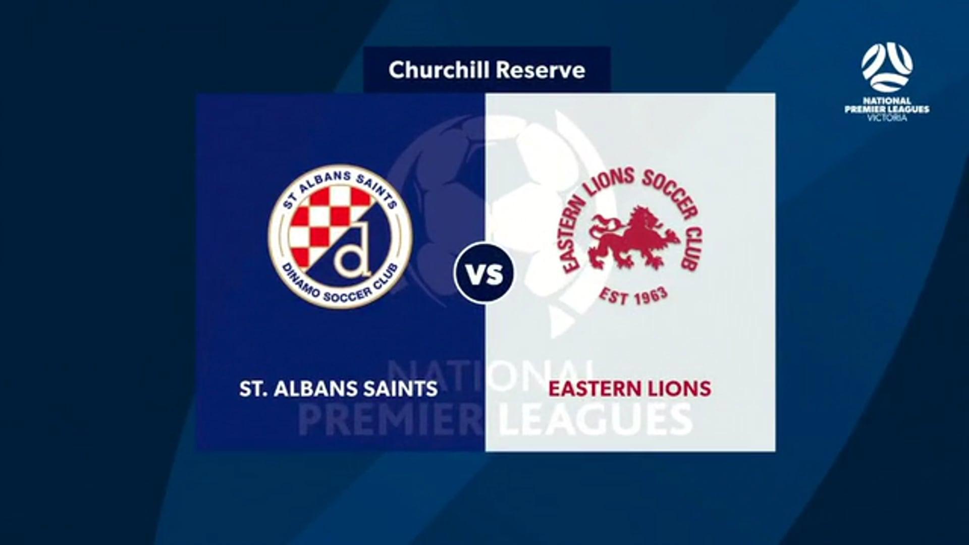 NPL Vic round 5 St Albans v Eastern Lions highlights