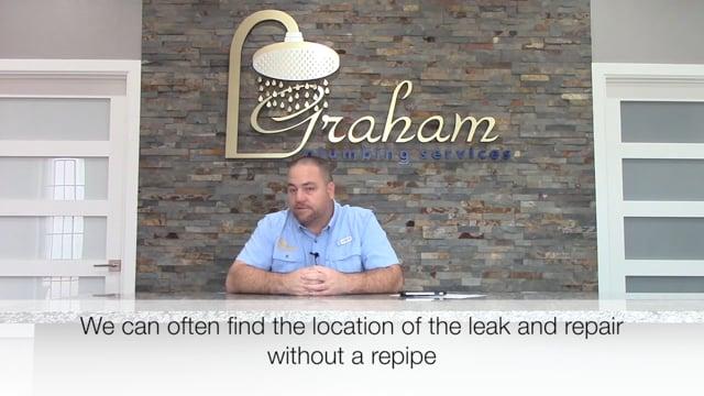 How We Do a Slab Leak Repair - Graham Plumbing Services - Houston