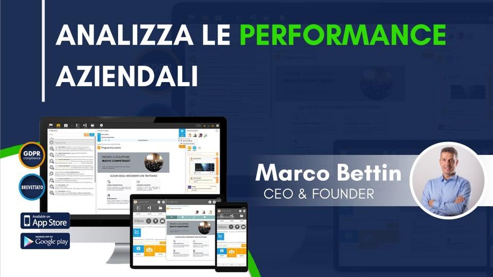Analizza le performance aziendali