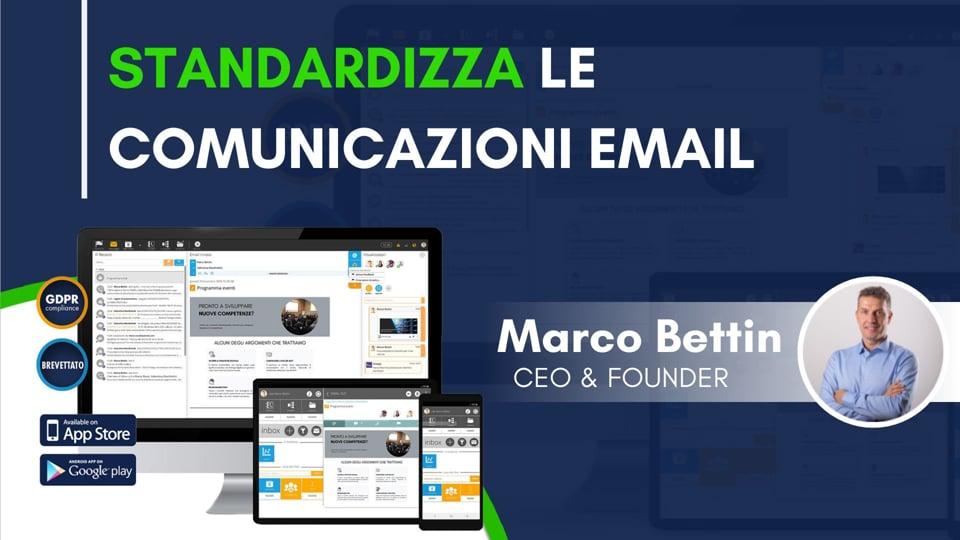 Standardizza le comunicazioni