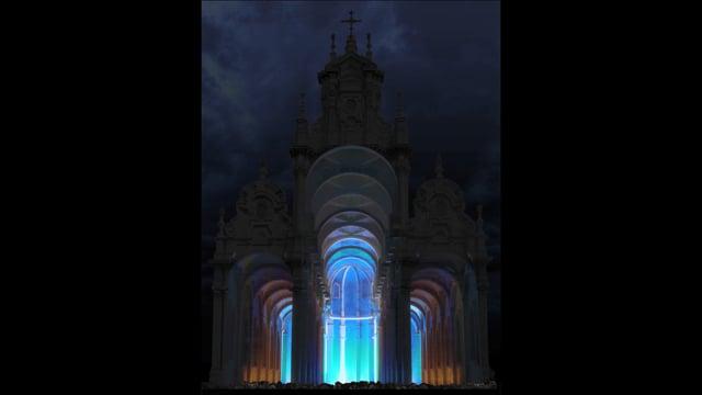 Bright Brussels - light festival Sint Baptist