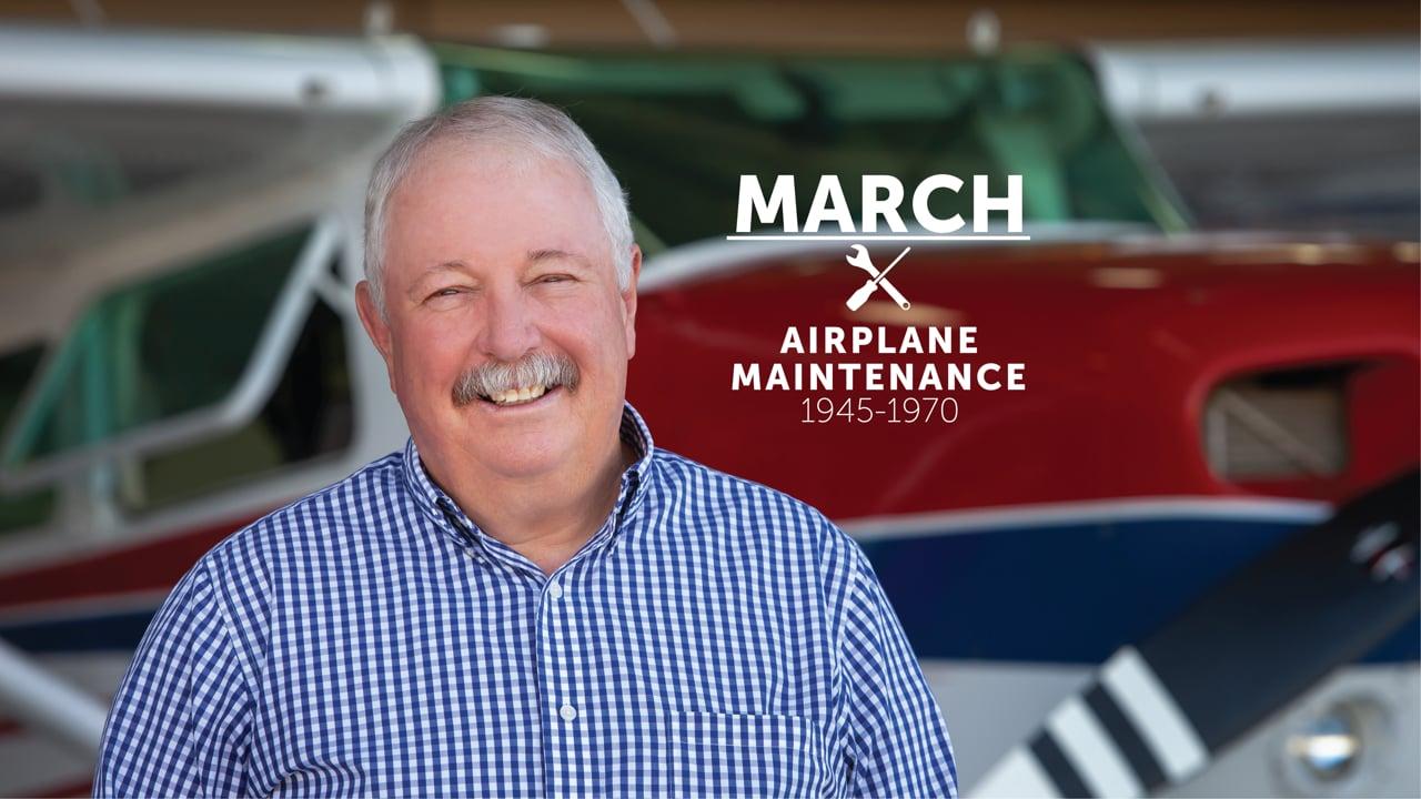 Airplane Maintenance with Gene Jordan - 1945-1970