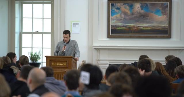 Millbrook's Tuesday Talk - Charlie Weisberg '21