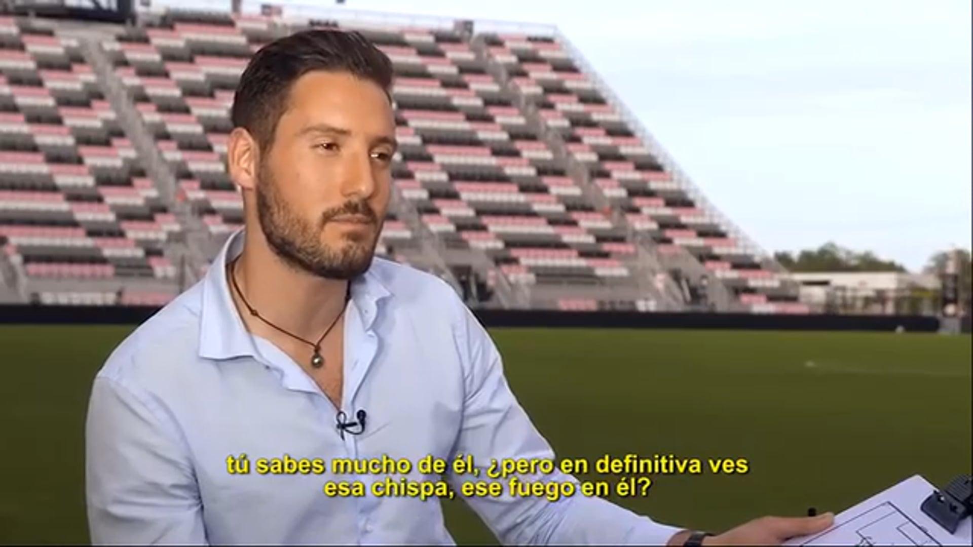 Nico Cantor interviews David Beckham (2 of 2)