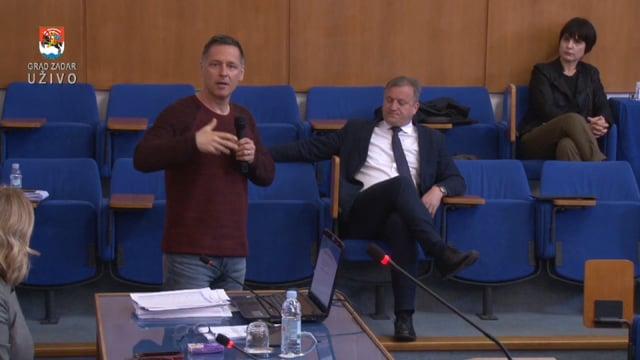 Izlaganje voditelja Službe za epidemiologiju Zavoda za javno zdravstvo, doktora Alana Medića o korona virusu