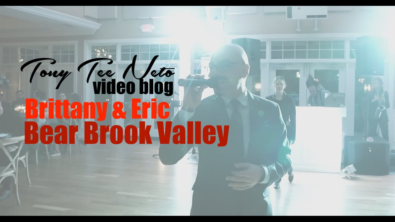 Real SCE Wedding - Brittany & Eric at Bear Brook Valley - SCE Event Group - Tony Tee Neto