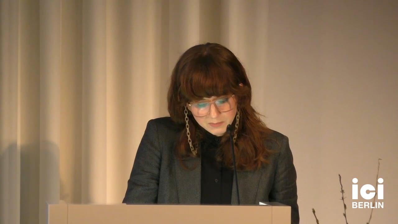 Talk by Nadine Hartmann