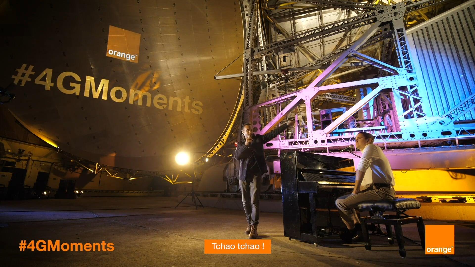 Orange #4GMOMENTS à la Cité des Télécoms