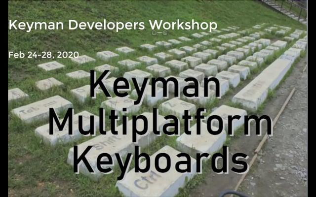 Keyman Multiplatform Keyboards