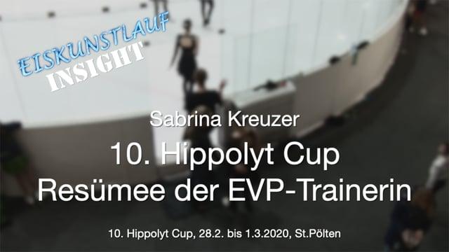 Eiskunstlauf - Hippolyt Cup 2020 - Sabrina Kreuzer