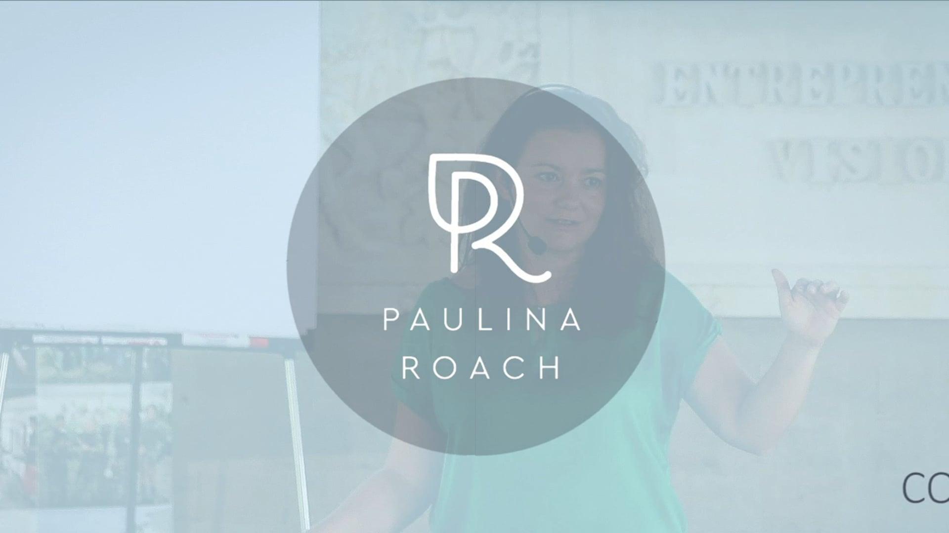 Paulina Roach Animated Logo