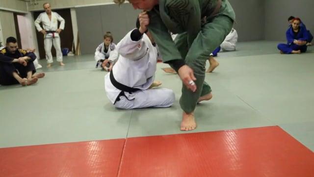 Sit-up 5) Renversement en single leg avec contrôle triceps