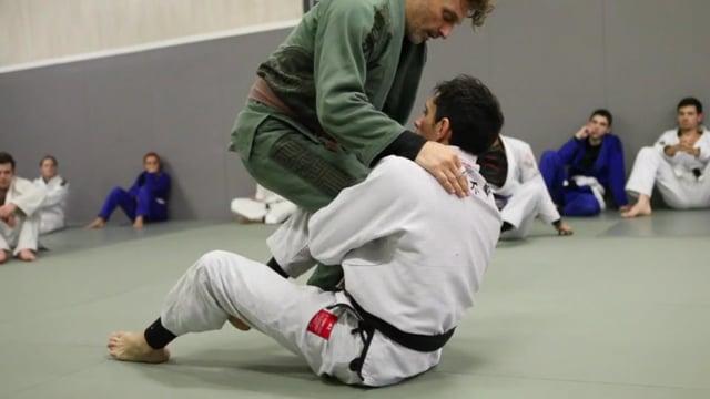 Sit-up 6) Renversement en single leg en se désengageant