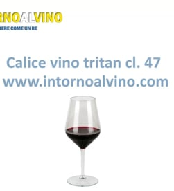 Video: Calice vino plastica tritan cl. 47