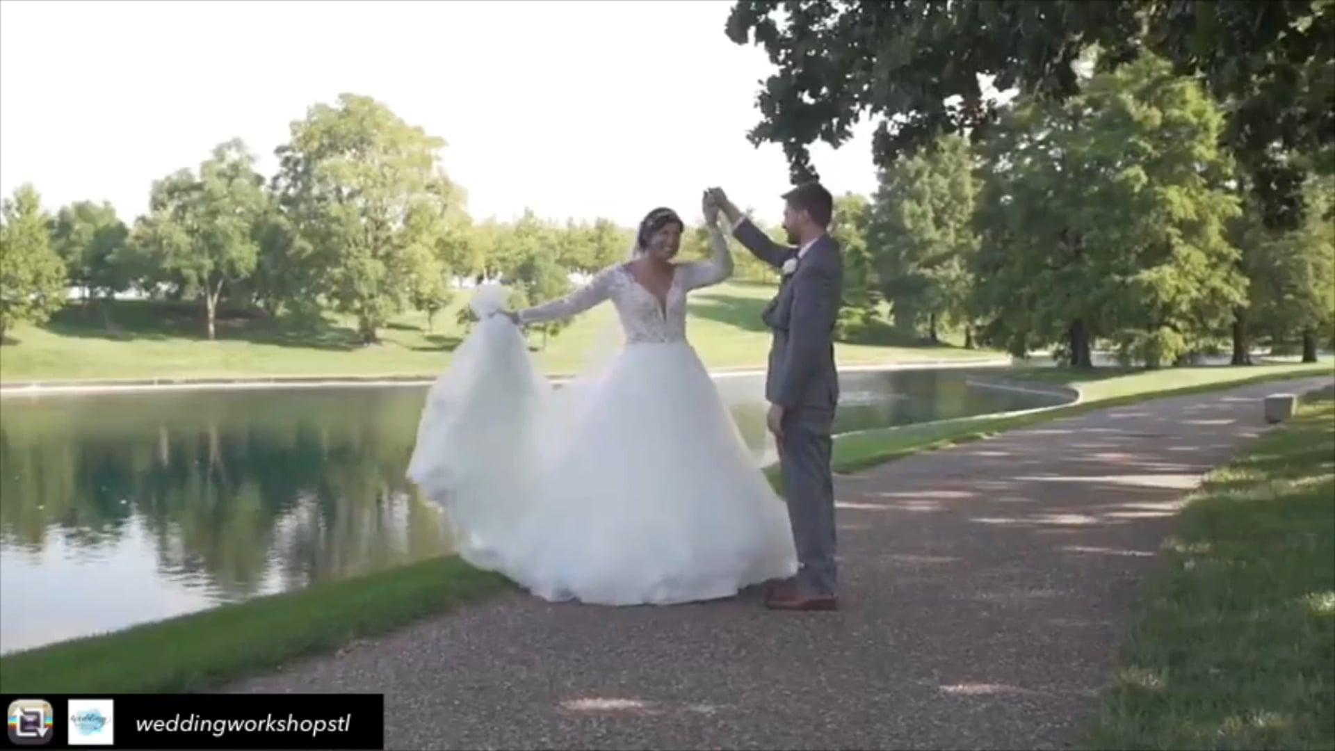 Choreographing wedding dance- with Wedding Workshops Stl