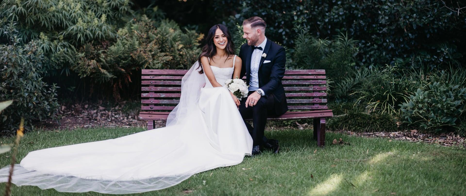 Natalie & Sam Wedding Video Filmed at Melbourne, Victoria