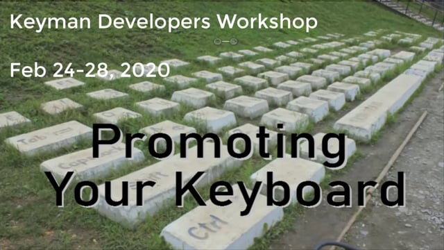 Promote your keyboard