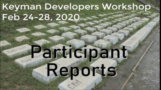 Participant Reports