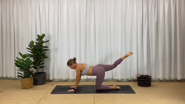 45min glute focused workout