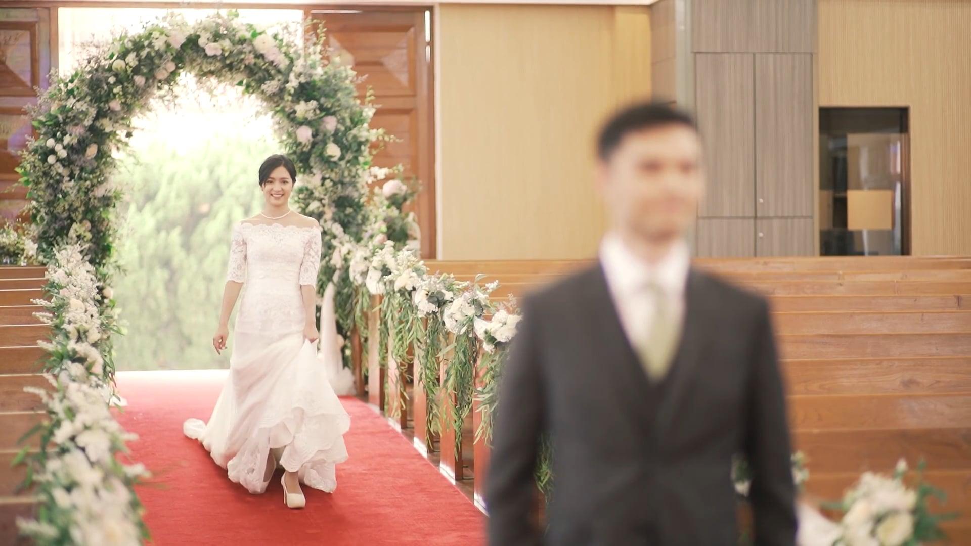 Alicia & Ryan Wedding  Highlight @theonemovie