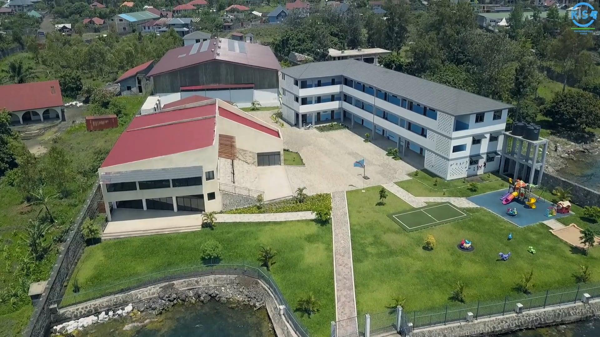Aerial shots I KIS in Goma, RDC