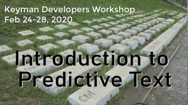 Introducing Predictive Text