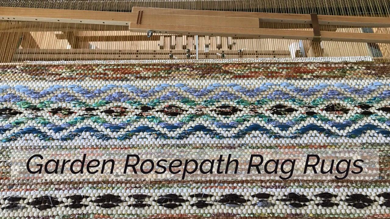 Garden Rosepath Rag Rugs