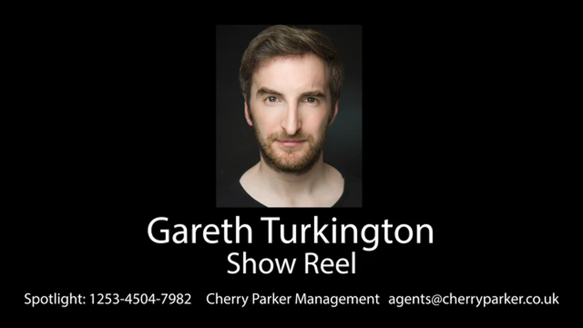 GARETH TURKINGTON- Show Reel