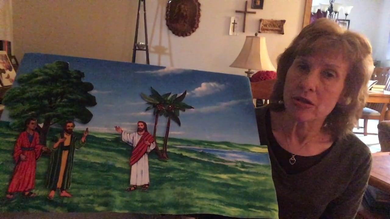 Bible Story - Jesus Enters Jerusalem