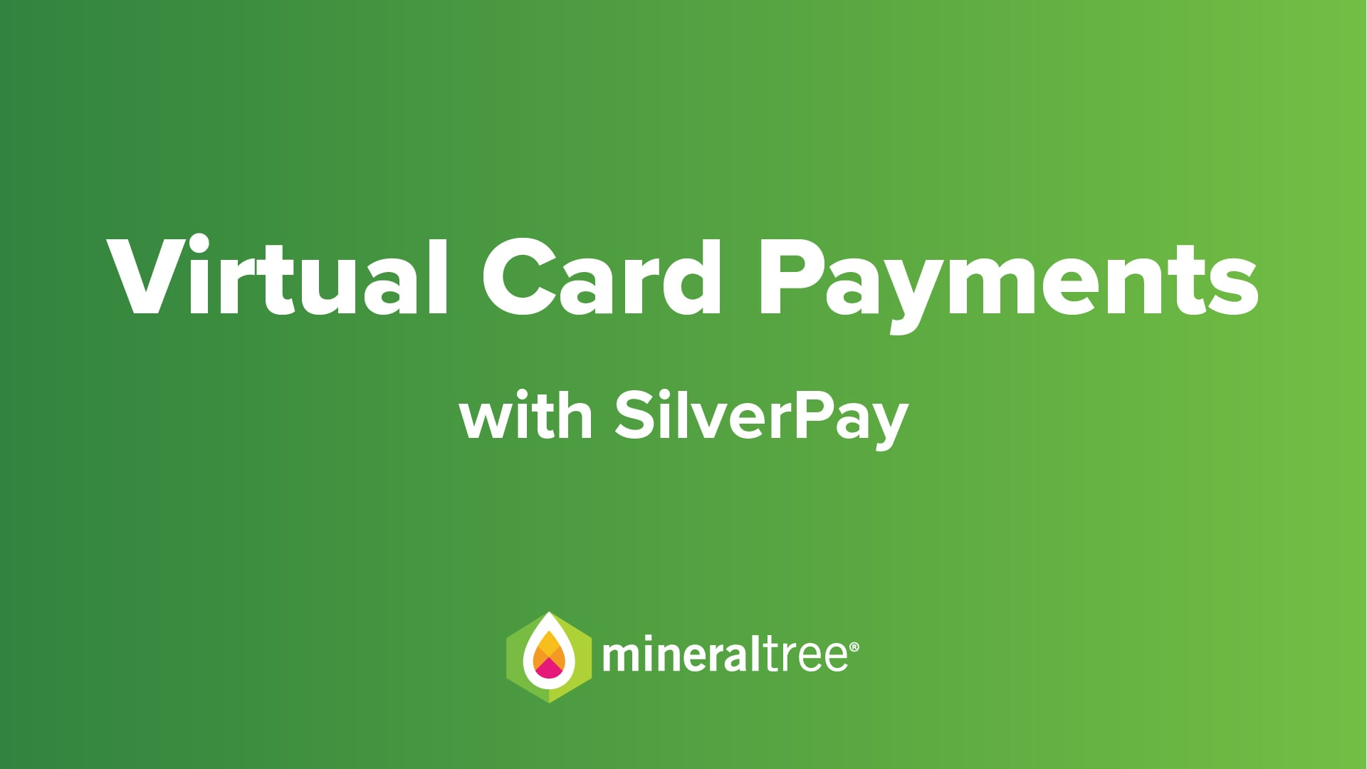Virtual Card Payments with SilverPay
