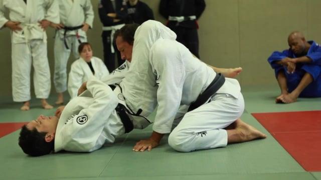 Bases17 2) Contrôle overhook dans la garde fermée et triangle