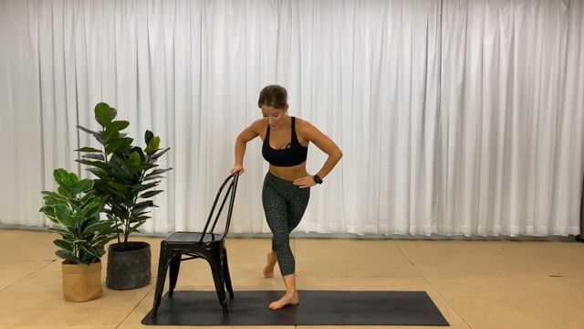 25min barre glute and thigh workout