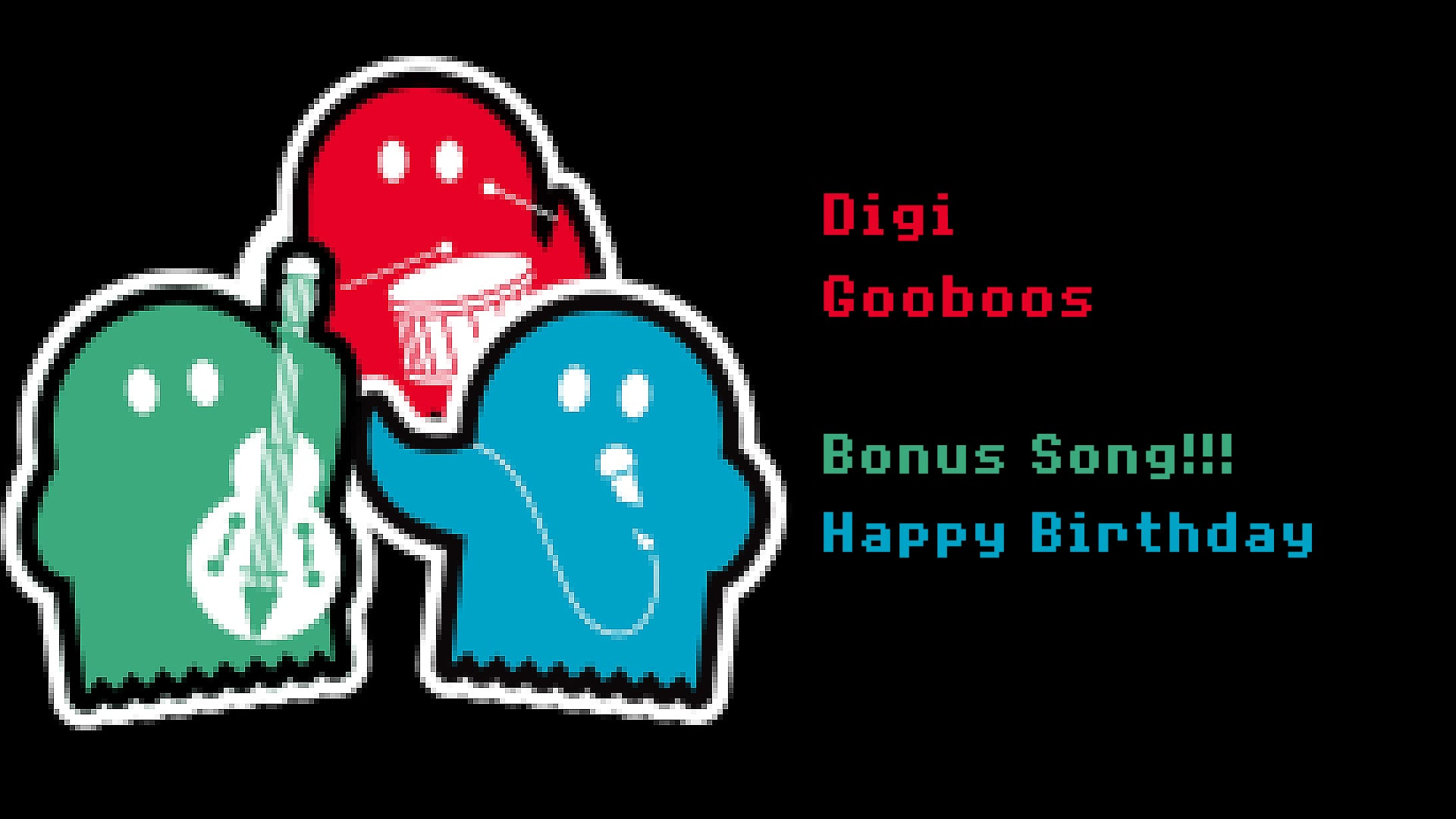 Digi GooBoos Bonus - Happy Birthday