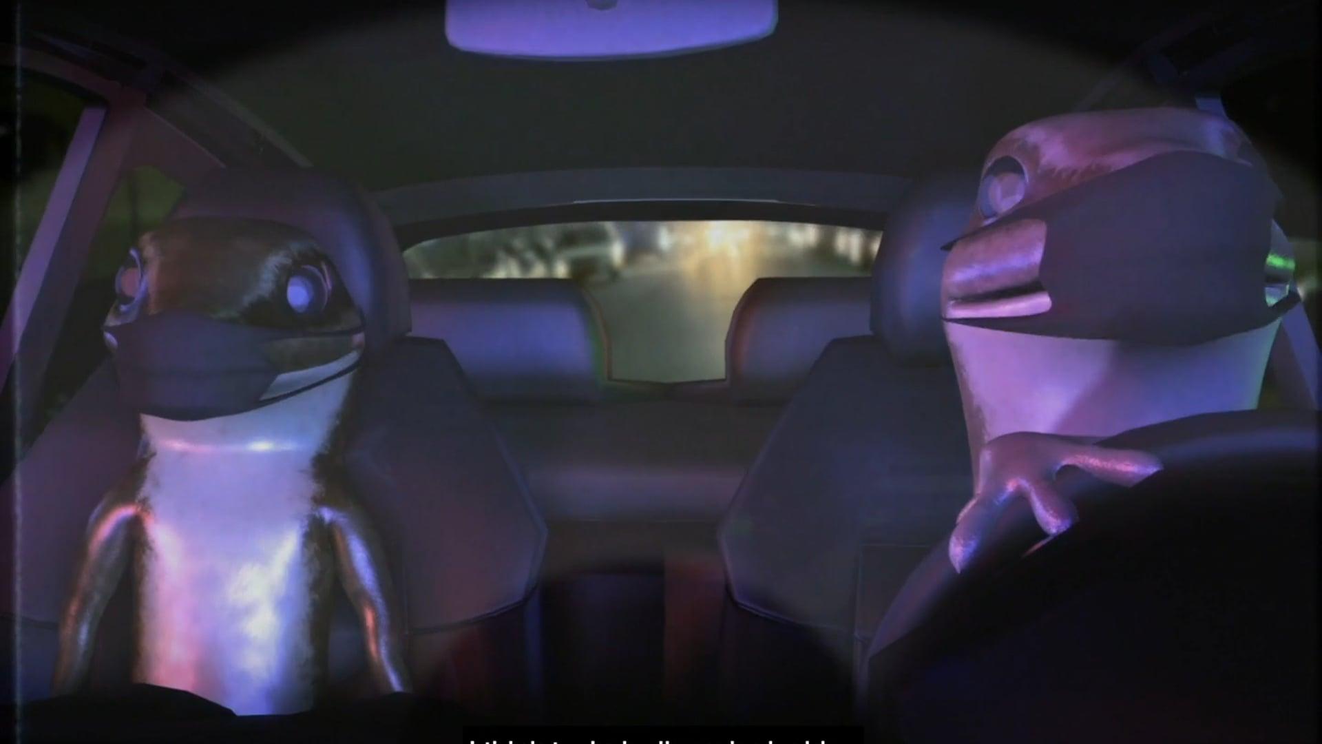 Orian Barki and Meriem Bennani, 2 Lizards: Episode 2, 2020