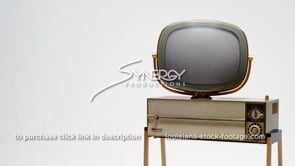 1681 Vintage television Philco Predicta Siesta ms angled right justified