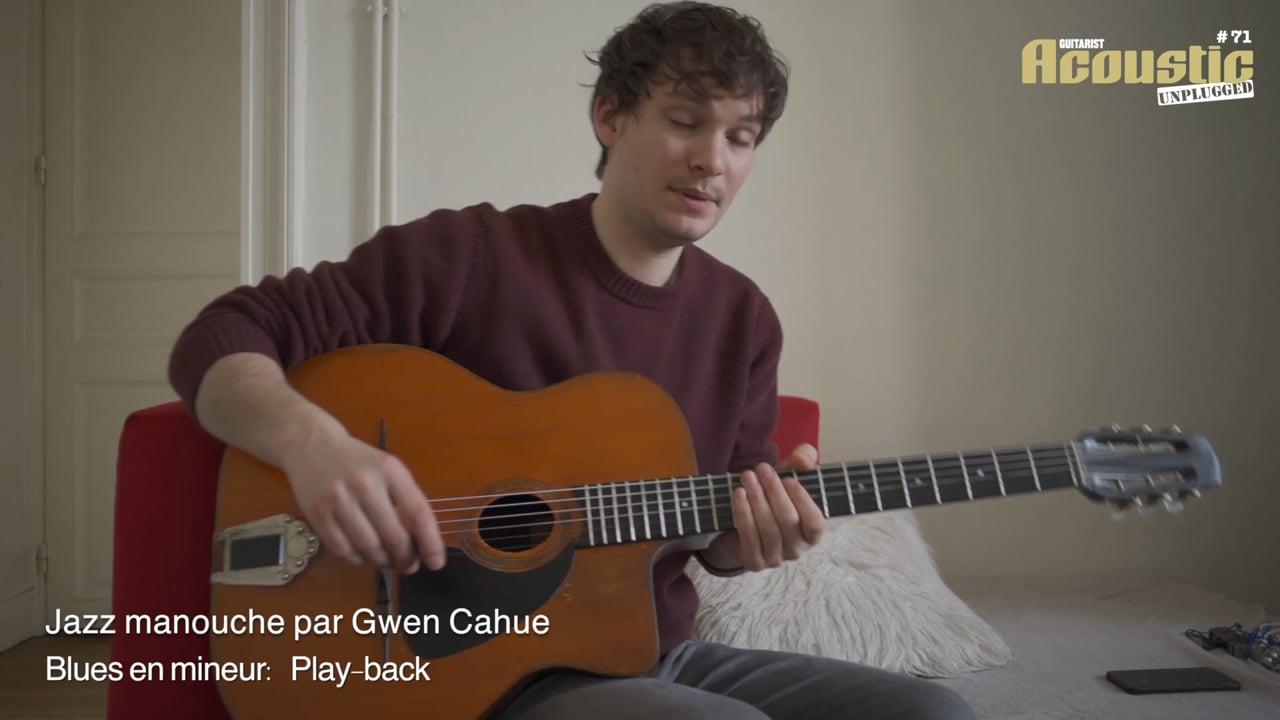 AC71 11 -Jazz manouche -Gwen Cahue -Play-back