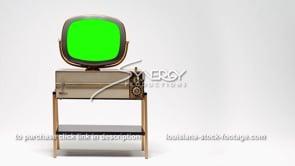 1689 Philco Predicta Siesta ws left justified green screen replacement