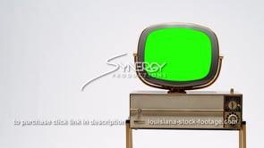 1691 Philco Siesta Predicta television MS right justified green screen