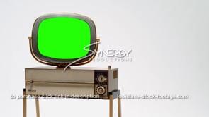 1695 Philco Predicta tv Siesta MS left justified green screen