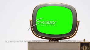 1696 Philco Predicta Siesta CU right justified green screen