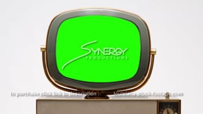 1698 Philco Siesta green screen chroma key