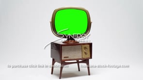 1721 Philco Predicta Penthouse wide angled green screen replacement