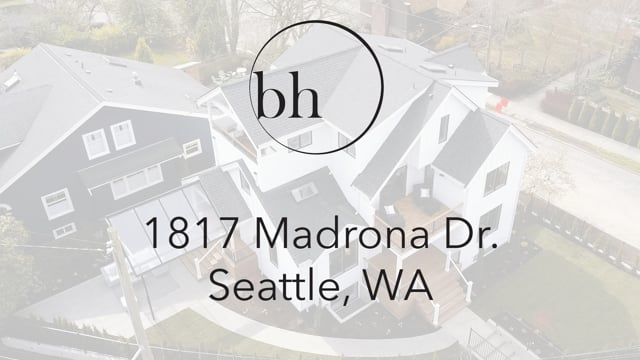 1817 Madrona Dr   Seattle Home Tour